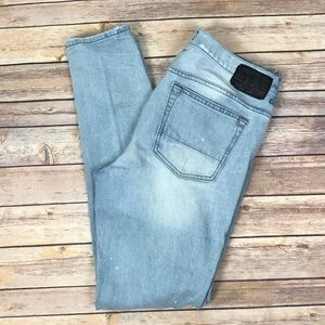 PAC SUN Stacked Skinny distressed jeans